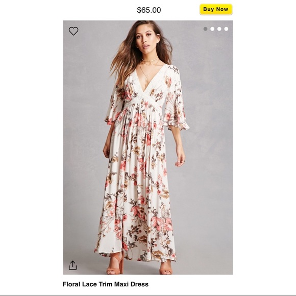 60868c1db87 Forever 21 Dresses   Skirts - Floral Maxi Forever21
